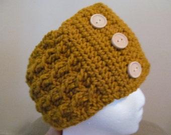 Cable Crochet Headwarmer