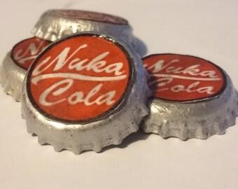 Nuka Cola Bottle Caps (Bundle of Four)