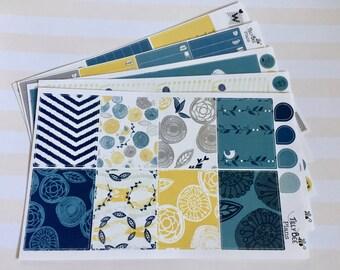"""Weekly Sticker Kit """"Love birds"""" // Erin Condren // Happy Planner // Plum Paper // Recollections"""
