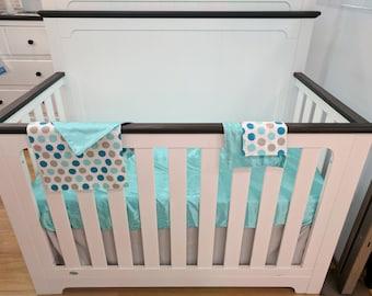 Crib Sheet (Turquoise)