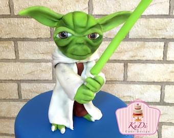 Star Wars - Yoda fondant