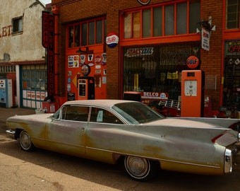 "Western Photography SD > Vintage ""Big Fins"" Cadillac Coupe de Ville"
