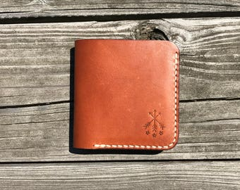 Leather Bi-Fold Wallet, Mens Wallet, Leather Wallet, Bi-Fold Wallet