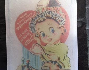 Vintage Valentine Permanent Soap-sweet pea scent