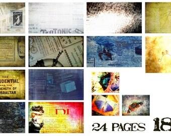 "Digital Junk Journal page kit ""1896"""