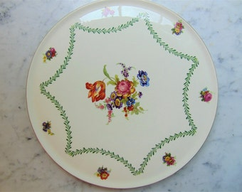 1950's Romarco Ware, England Cake Plate