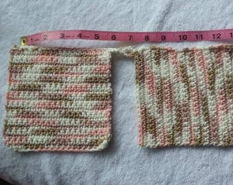 All cotton, Handmade Pot Holders and Hot Pads   (colors/sizes)