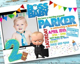 Boss baby printable etsy