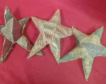 Set of 3 Quilted  Star  Bowl  Fillers