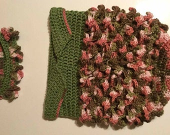 Woodland Fairy Baby Cocoon-PATTERN
