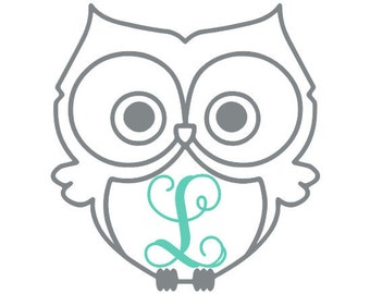 Owl Personalized Decal