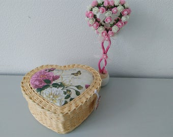 Wicker baskets for decoration