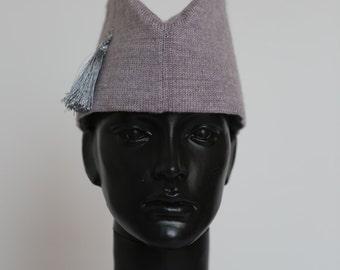Fashion knitted garrison hat