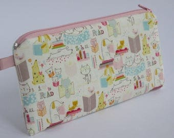 "Spring bag ""Cute"" Pencil Pouch pencil case cosmetic bag"