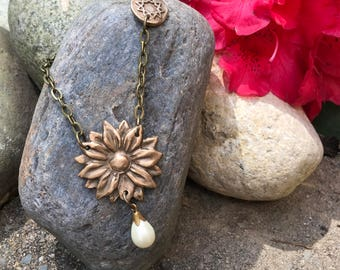 Flowers of One Garden Necklace