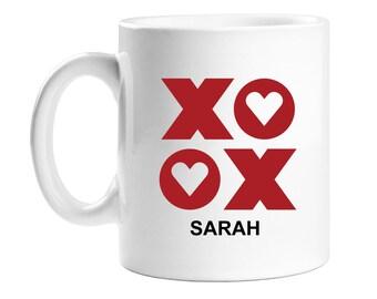 Coffee Mug - Personalized XOXO - WCM11OZ-ED6R