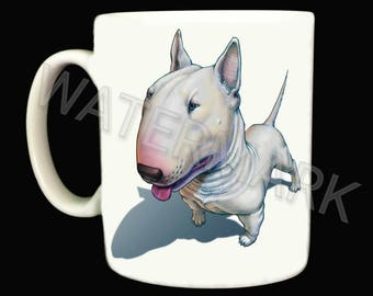 Bull Terrier Mug .. Mugs . English
