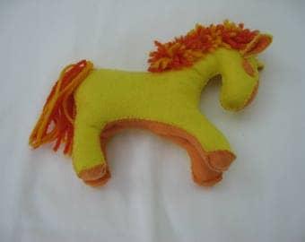 Wool Felt Toy Horse