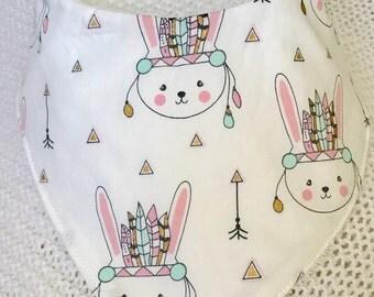 Bunny Love Dribble bib