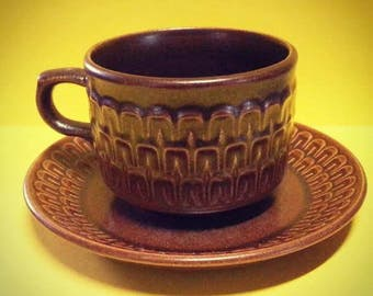 Retro Wedgewood Pennine Cup and Saucer