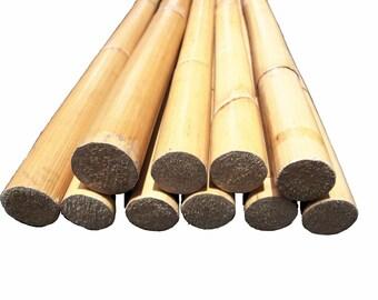 "36"" Raw Rattan Wood Poles"