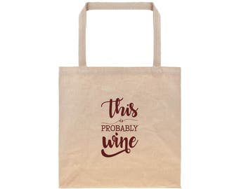 Tote Bags For Mom Birthday Gifts for Her Reusable Grocery Bag Canvas Tote Bag Cotton Tote Bag Wine Typography