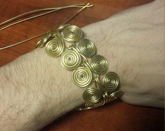 Egyptian Spiral Chain Braclet