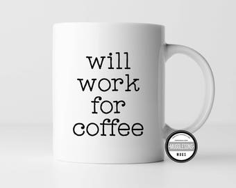 Coffee Mug, Tea Mug, Office Humor, Boss Gift, Sarcastic Gift, Funny Mug, White Elephant Gift, Gag Gift, Coworker gift, Work gift