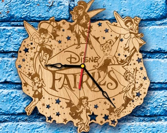 Fairy wall art clock tooth fairy gifts tooth fairy silhouette tooth fairy birthday decorations tooth fairy sign tooth fairy items