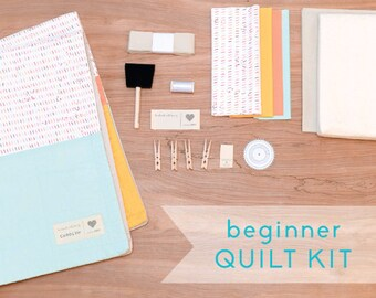 Birthday Sprinkles - DIY Baby Quilt Kit for Beginner Sewists and Quilters