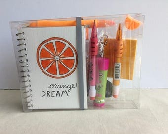 Doodle Box -Orange Dream