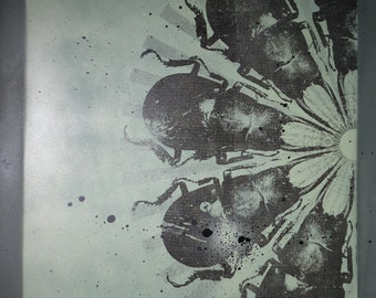 Silkscreen | Insect Art | Printmaking | Cycle I - diptych (set of 2) | from vex 13 000 | skydive art project - screen print, limited edition