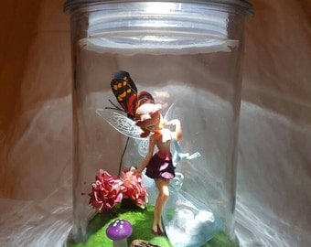 Pink Tooth Fairy Jar