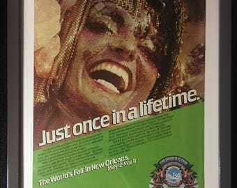1984 Worlds Fair New Orleans- original ad