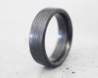 Carbon Waves Ring