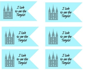 I love to see the temple small banner