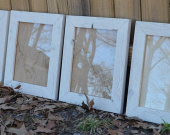 Distressed Antique Farmhouse Style Handmade Picture Frames