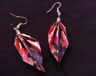 origami #9 earrings