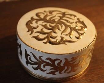 French vintage face powder box Stendhal