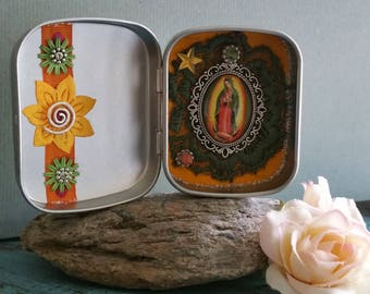 Lady of Guadalupe - great altar bottles