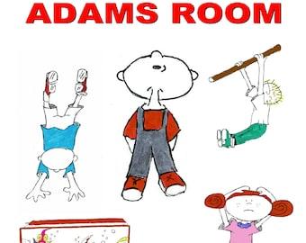 kids room print art