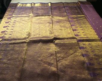 9. Pure Silk Saree