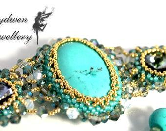 Turquoise elegance bracelet