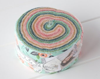 Sugar Pie Jelly Roll by Lella Boutique, for Moda Fabrics