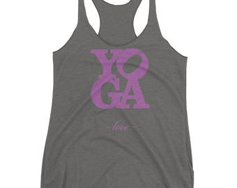 Yoga Love Tank Top (women's)