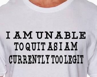 Too Ligit T-Shirt