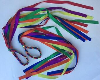 Rainbow Streamers-1 Pair