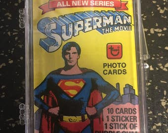Topps Superman Trading Card Set