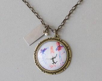 Gold Atlas Necklace