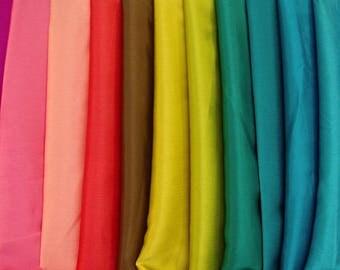 Yoryu Satin Fabric  Various Colours